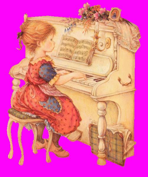 Открытки дети за роялем, фотографией пожеланиями
