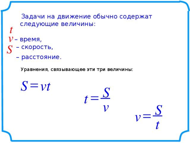 Алгоритм решения задачи на движение объяснить решение задач по геометрии 7 класс