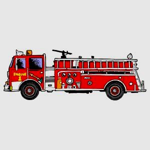 Картинка анимация пожарная машина, днем рождения женщине