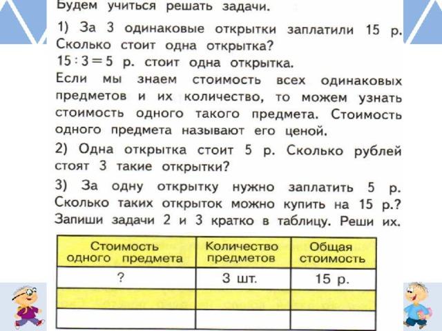 За 3 одинаковые открытки заплатили 15 рублей, картинка анимация