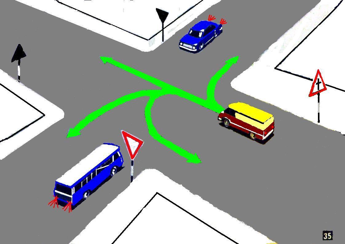 найти для проезд неравнозначных перекрестков в картинках кто