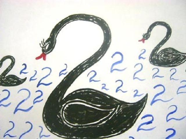 быть лебедь цифра два в картинках вам удалось найти