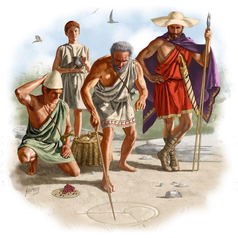 Геометрия в древней греции доклад 7353