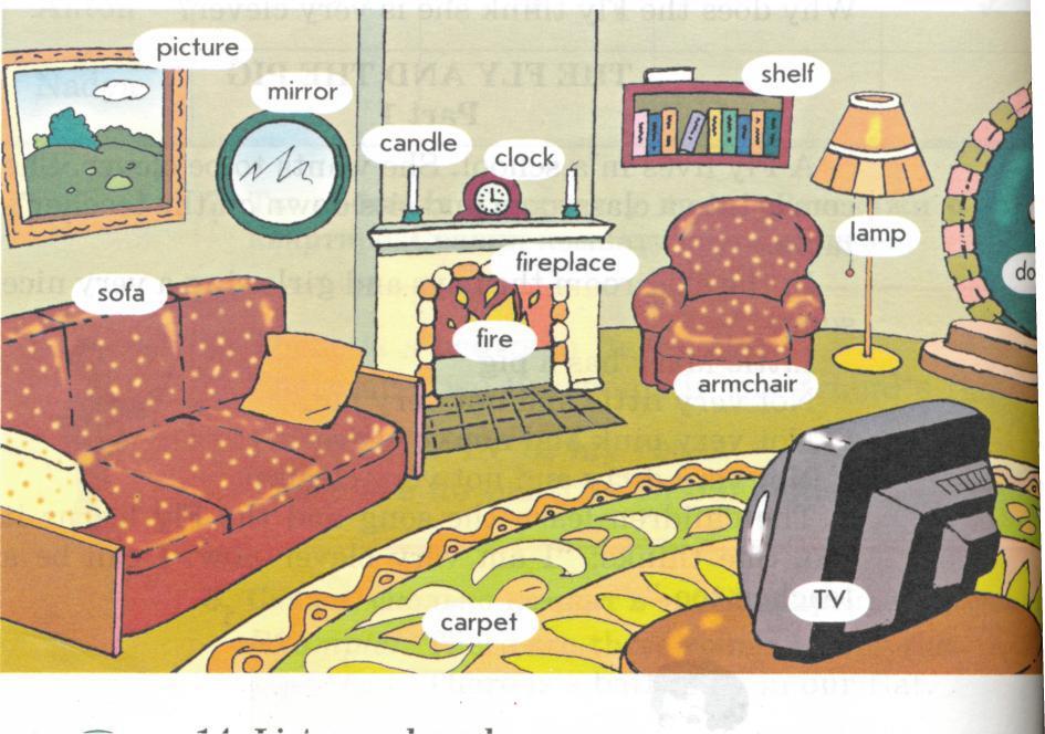 Просмотр картинок на английском