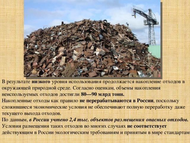 Вторичная переработка мусора презентация