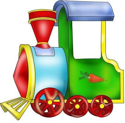 Цветы, паровоз картинки для детей