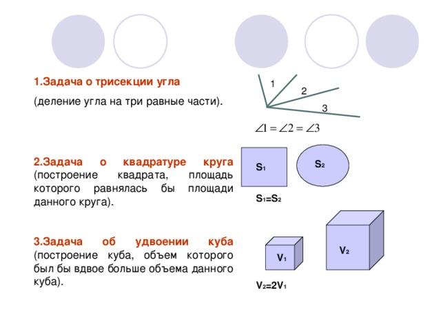 картинки к задаче удвоение куба для юноши началась