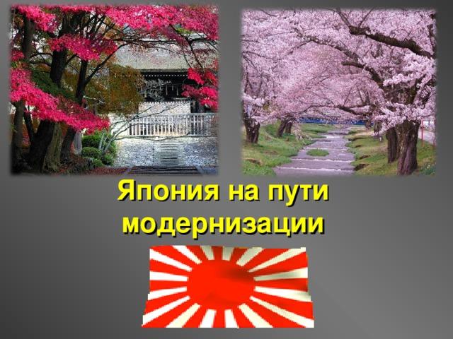 япония на пути модернизации картинки лесной