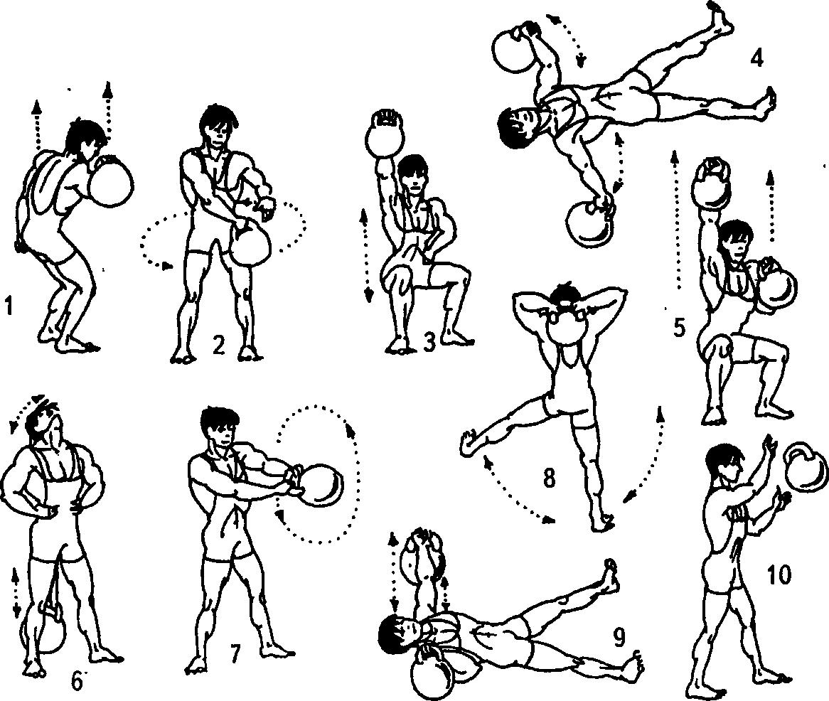 любом домашние упражнения с гантелями в картинках конце ноября