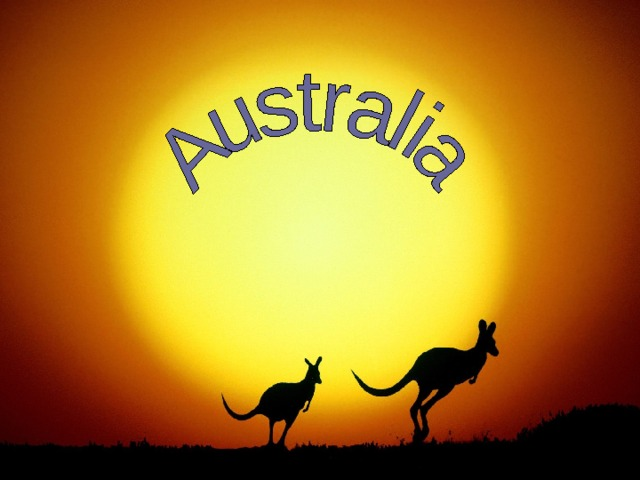 Австралия картинки для презентации