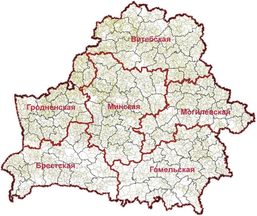 можете увидеть карта беларуси с изображением символа области фото военный
