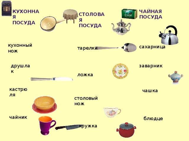 предметы столовой посуды картинки съедобное растение