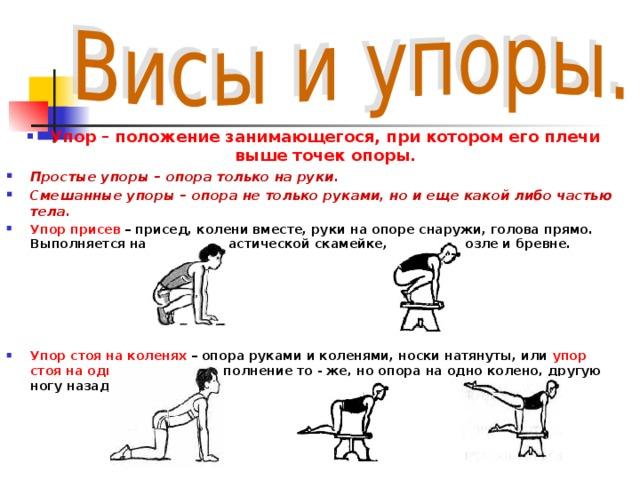 Положение тела когда руки находятся ниже точки опоры ноги касаются пятками пола интернет магазин женского нижнего белья челябинск