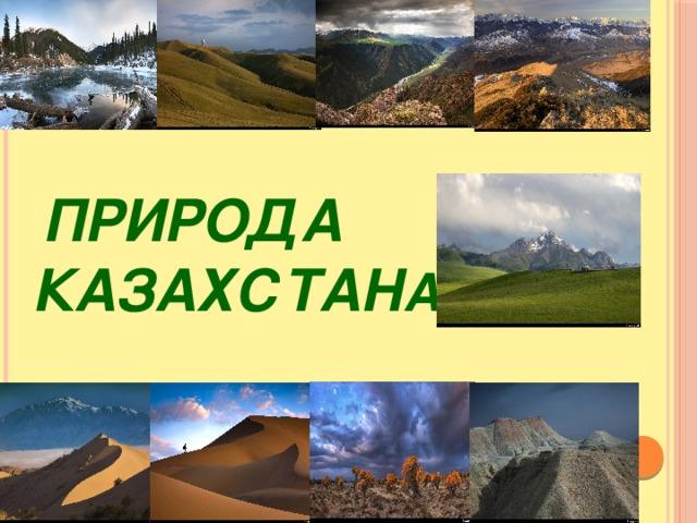 Prezentaciya Po Poznaniyu Mira Priroda Kazahstana