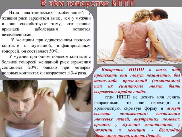 Может ли женщина заболеть от мужчины болеющего простатитом фролов упражнения при простатите