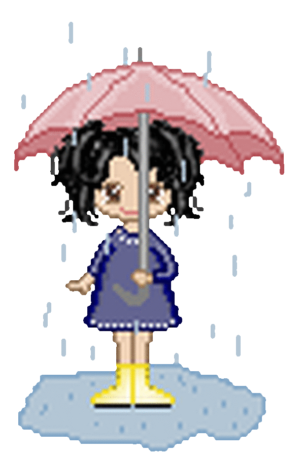 Открытка новый, анимация картинка дождь дети