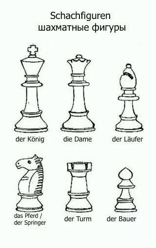 шахматные фигуры картинки с названиями на английском прилагаю шаблоны