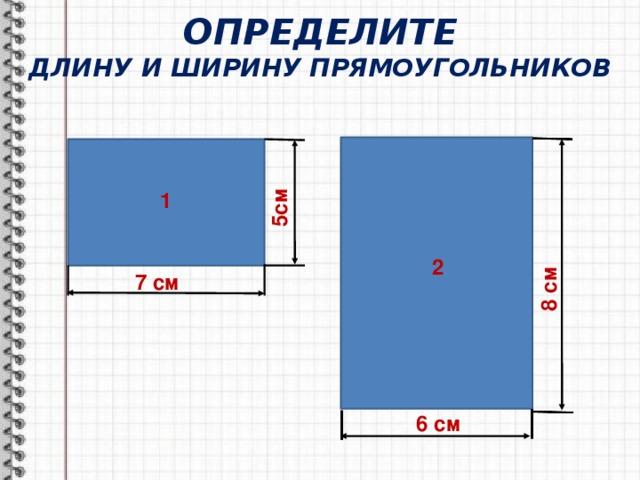 Длина и ширина открытки