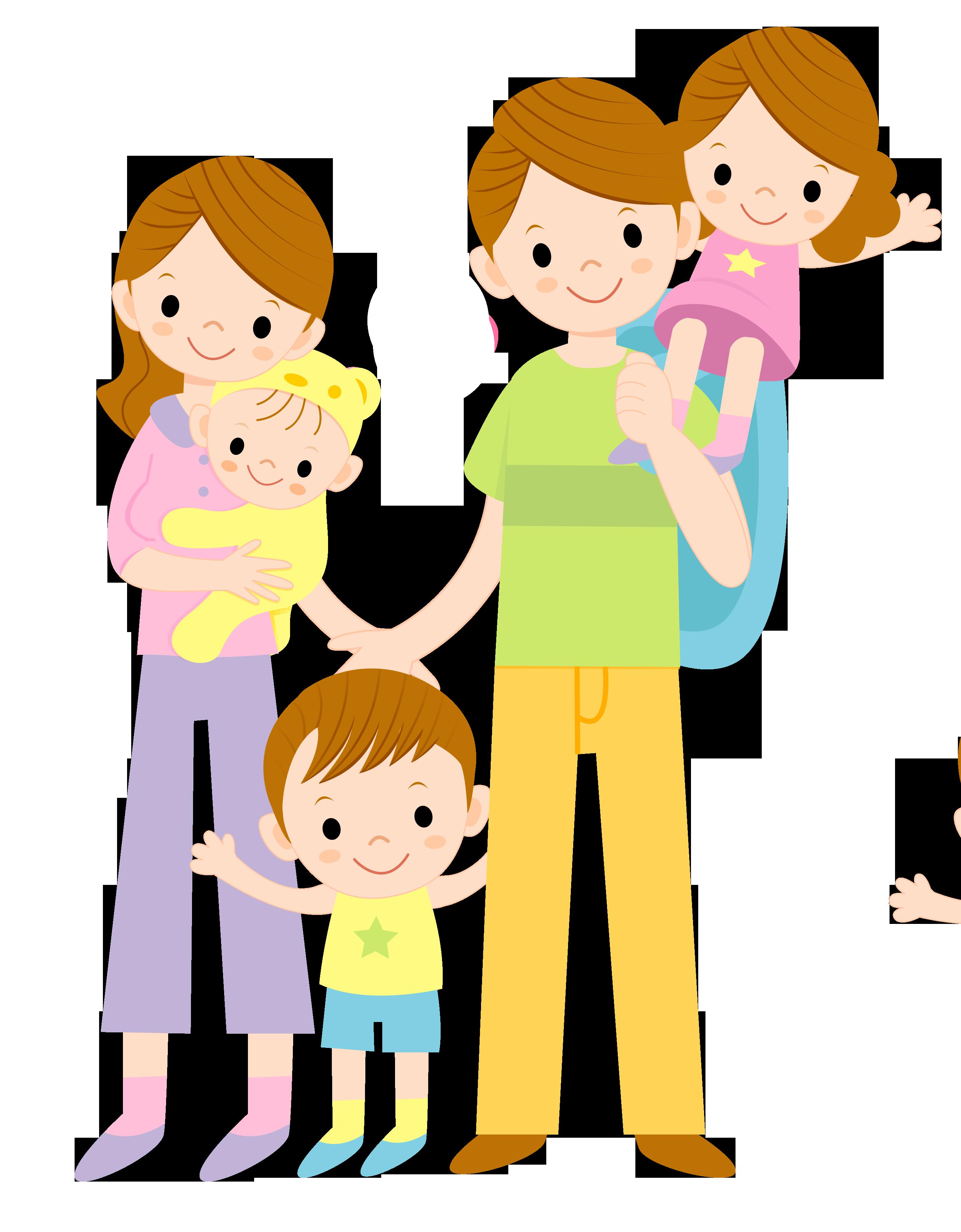 Картинки дети и родители нарисованные, дню разведки