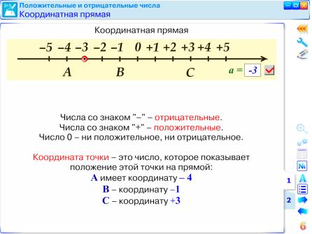 Реферат на тему координатная прямая 8758