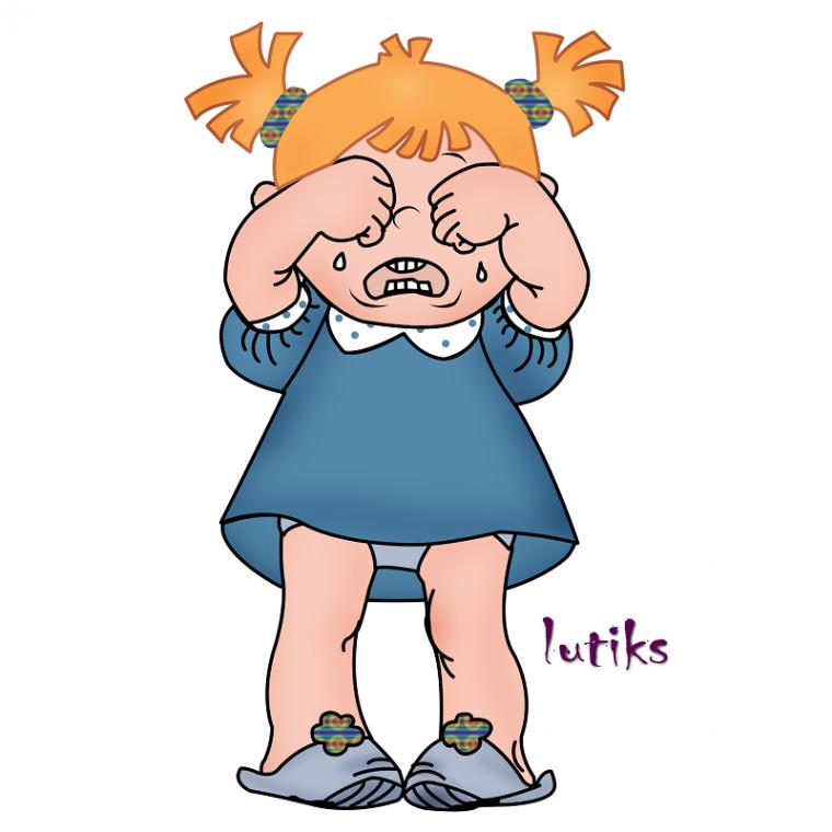 Открытки плачущих детей